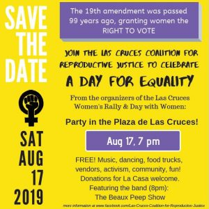Party to celebrate the 19th Amendment